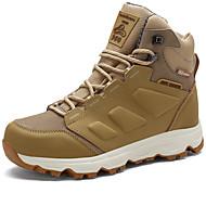 baratos Sapatos Masculinos-Homens Fashion Boots Sintéticos Inverno Esportivo / Vintage Botas Manter Quente Botas Cano Médio Preto / Amarelo