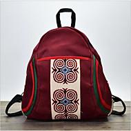 billige Skoletasker-Dame Tasker polyester rygsæk Lynlås Mørkeblå / Vin