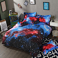 cheap Duvet Covers-A Nice Night Galaxy Bedding Sets Duvet Cover Sets 3D Polyster Printed 3 Piece