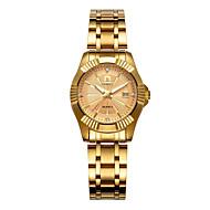 Dame Armbåndsur Quartz 30 m Kalender Legering Bånd Analog Afslappet Mode Guld - Sort Sølv Rose Guld