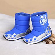 baratos Sapatos de Menina-Para Meninos / Para Meninas Sapatos Couro Ecológico Inverno / Outono & inverno Botas de Neve Botas Caminhada Combinação para Infantil / Adolescente Fúcsia / Vermelho Escuro / Azul Real