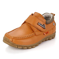 baratos Sapatos de Menino-Para Meninos Sapatos Pele Primavera & Outono / Inverno Solados com Luzes Tênis para Infantil / Bébé Preto / Amarelo
