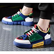 baratos Sapatos Masculinos-Homens Sapatos Confortáveis Microfibra Verão Tênis Branco / Cinzento / Verde