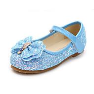 baratos Sapatos de Menino-Para Meninos / Para Meninas Sapatos Couro Ecológico Primavera & Outono Sapatos para Daminhas de Honra Rasos Pedrarias / Laço para Infantil / Bébé Fúcsia / Azul / Rosa claro