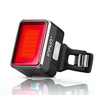 LED Fietsverlichting Achterlicht fiets Bergracen Wielrennen Waterbestendig Snelsluiting intelligent Oplaadbare lithium-ion batterij 50 lm Rood Fietsen