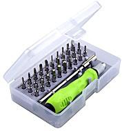 conjunto de chave de fenda de precisão de 32 em 1 mini chave de fenda magnética definir telefone móvel ipad câmera manutenção ferramenta torx