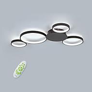 billige Taklamper-4-Light Sirkelformet / Originale Takplafond Omgivelseslys Malte Finishes Aluminum Matt, Mulighet for demping, Nytt Design 110-120V / 220-240V Varm Hvit / Kald Hvit / Dimbar med fjernkontroll LED