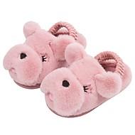 Χαμηλού Κόστους Παιδικά Slipper-Αγορίστικα / Κοριτσίστικα Παπούτσια Βαμβάκι Χειμώνας Ανατομικό Παντόφλες & flip-flops για Νήπιο Μαύρο / Γκρίζο / Ροζ