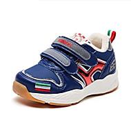 baratos Sapatos de Menino-Para Meninos Sapatos Camurça Outono & inverno Conforto Tênis Caminhada Velcro para Infantil Cinzento / Azul