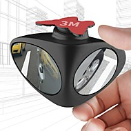 cheap Car Body Decoration & Protection-Car Rear View Mirror Rotatable Adjustable Blind Spot Mirror Convex Wide Angle Mirror front wheel Car mirror
