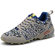 baratos Sapatos Masculinos-Homens Sapatos Confortáveis Tricô Primavera Esportivo / Vintage Tênis Aventura Massgem Verde / Azul