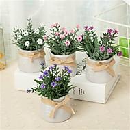 billige Kunstig Blomst-Kunstige blomster 1 Afdeling Klassisk / Enkel Rustikt / minimalistisk stil Vase Bordblomst