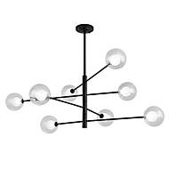 billiga Belysning-ZHISHU 8-Light geometriska Ljuskronor Glödande Målad Finishes Metall Ny Design 110-120V / 220-240V