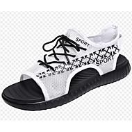 0592a661f Men s Comfort Shoes Mesh Summer Sandals White   Black