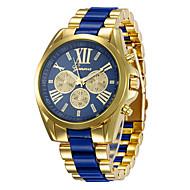 สำหรับผู้ชาย นาฬิกาแนวสปอร์ต นาฬิกาข้อมือ นาฬิกาอิเล็กทรอนิกส์ (Quartz) ดำ / สีขาว / เหลือง 30 m นาฬิกาใส่ลำลอง ปุ่มหมุนขนาดใหญ่ ระบบอนาล็อก ไม่เป็นทางการ แฟชั่น - สีดำ สีเหลือง ฟ้า
