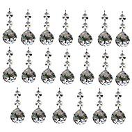 billige belysning Tilbehør-20pcs 30mm krystall glass ball lysekrone prismer pendants deler perler