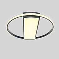 billige Taklamper-2-Light Sirkelformet / Originale Takplafond Omgivelseslys Malte Finishes Metall Matt, Øyebeskyttelse, Søtt 110-120V / 220-240V Varm Hvit / Kald Hvit / Dimbar med fjernkontroll LED lyskilde inkludert