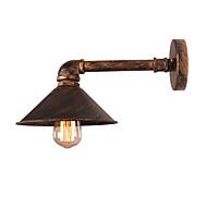 billige Vegglamper-OYLYW Mini Stil Antikk / Retro / vintage Vegglamper Stue / Kjøkken Metall Vegglampe 110-120V / 220-240V 60 W