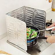 Κουζίνα Είδη καθαριότητας Αλουμινόχαρτο Αυτοκόλλητα Ανθεκτικά στο Λάδι Δημιουργική Κουζίνα Gadget 1pc
