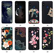 billiga Mobil cases & Skärmskydd-fodral Till Xiaomi Redmi not 5A / Redmi Note 5 Pro Mönster Skal Djur / Blomma Mjukt TPU för Redmi Note 5A / Xiaomi Redmi Note 5 Pro / Xiaomi Redmi 6 Pro