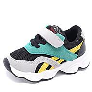 baratos Sapatos de Menino-Para Meninos / Para Meninas Sapatos Couro Sintético Outono Conforto Tênis para Bébé Vermelho / Verde
