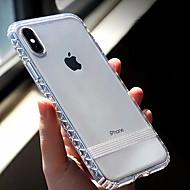 billiga Mobil cases & Skärmskydd-fodral Till Apple iPhone XR / iPhone XS Max Genomskinlig Skal Enfärgad Mjukt TPU för iPhone XS / iPhone XR / iPhone XS Max