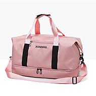 billige Rejsetasker-Oxfordtøj Helfarve Rejsetaske Lynlås Helfarve Rød / Grå / Lys pink