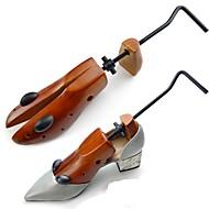 tanie Akcesoria do obuwia-Prawidła i rozciągacze Drewno 1 opakowanie Unisex Brązowy S / M / L