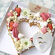 billige Bakeredskap-Bakeware verktøy Plast Kake / For kjøkkenutstyr Cake Moulds 3pcs