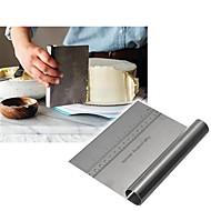 baratos Utensílios para Biscoitos-Raspador de massa de pizza de aço inoxidável cortador de cozimento espátulas espátulas ferramentas de decoração do bolo acessórios de cozinha