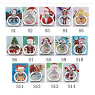 billiga Mobil cases & Skärmskydd-Skrivbord Montera stativhållare Christmas Santa Claus Phone Holder Justerbar / 360 ° rotation ABS Hållare