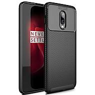 billiga Mobil cases & Skärmskydd-ASLING fodral Till OnePlus One Plus 6T Frostat Skal Enfärgad Mjukt TPU för One Plus 6T