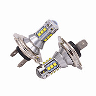 cheap Car Lights-2pcs H7 Car Light Bulbs 50W High Performance LED 5000lm Headlamp