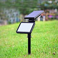 baratos Focos-1pç 4.5 W Focos de LED / Luzes do gramado / Luz da parede solar Solar / Decorativa / Controle de luz Branco 3.7 V Iluminação Externa 48 Contas LED