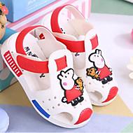 baratos Sapatos de Menina-Para Meninos / Para Meninas Sapatos PVC Primavera Conforto Sandálias para Bébé Vermelho / Azul