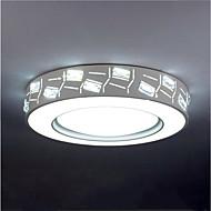 billige Taklamper-Flush Mount Lighting Omgivelseslys galvanisert Metall Akryl Krystall, Anti-refleksjon, Mulighet for demping 110-120V / 220-240V Dimbar med fjernkontroll / Varm hvit + hvit
