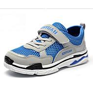 baratos Sapatos de Menino-Para Meninos Sapatos Microfibra Verão Conforto Tênis Velcro para Infantil Vermelho / Azul / Khaki / Estampa Colorida