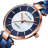 MINI FOCUS Pentru femei Ceas de Mână Japoneză Quartz Oțel inoxidabil Negru / Albastru / Auriu 30 m Ceas Casual Cool Analog femei Modă Elegant - Negru Albastru Roz auriu