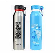 billiga Dricksglas-Dryckes Vattenflaskor / Sportflaska / vakuum Cup Stål + Plast / Rostfritt stål / PP+ABS Bärbar / värmelagrande Skoluniform / Sport