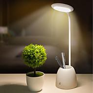 billige Skrivebordslamper-brelong 360 graders roterende trinnløs lysdempende pennholder barns øyevern bordlampe 1 stk