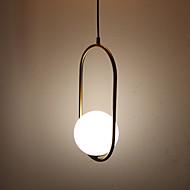 billige Takbelysning og vifter-Sirkelformet / Mini Anheng Lys Omgivelseslys Antikk Messing galvanisert Metall Glass Øyebeskyttelse 110-120V / 220-240V