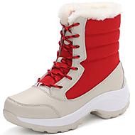baratos Sapatos de Menina-Para Meninas Sapatos Náilon / Sintéticos Inverno Botas de Neve / Botas da Moda Botas para Infantil / Adolescente Bege / Azul / Rosa claro / Botas Cano Médio