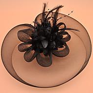 Μαύρος κύκνος Γυναικεία Κοριτσίστικα Ρετρό / Βίντατζ Βίντατζ Δεκαετία του 1920 Κομψό Καλύμματα Κεφαλής καπέλο Για Μασκάρεμα Χοροεσπερίδα Συμπόσιο Καπέλο Καλύμματα Κεφαλής Κοστούμια Κοσμήματα / Φτερό