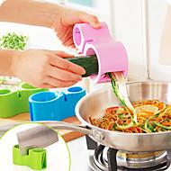 tanie Akcesoria do owoców i warzyw-1 szt. Narzędzia kuchenne Stal nierdzewna + Plastic Kreatywny gadżet kuchenny Obieraczka i tarka Kuchnia