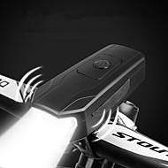 billige Sykkellykter og reflekser-sykkel glødelamper / Frontlys til sykkel / Bike Horn Light LED Sykkellykter Sykling Vanntett, Fort Frigjøring, Holdbar AAA 1000 lm AAA Hvit Camping / Vandring / Grotte Udforskning / Sykling