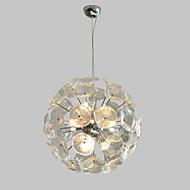 billige Takbelysning og vifter-QIHengZhaoMing 9-Light Anheng Lys Omgivelseslys galvanisert Metall Glass 110-120V / 220-240V Varm Hvit