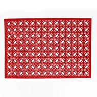 billige Bordduker-Moderne 75g / m3 Polyester strik stretch Kvadrat Bordskånere Varme resistent Borddekorasjoner