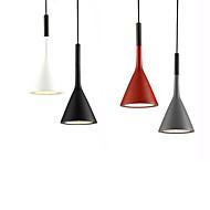 billige Takbelysning og vifter-Ecolight™ Cone / geometriske / Mini Anheng Lys Omgivelseslys eloksert Aluminum Harpiks Mini Stil, Kreativ, Justerbar 110-120V / 220-240V Varm Hvit / Hvit