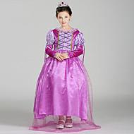 Déguisement Halloween Fille Belle Robes Costume de Cosplay Noël Halloween Carnaval Violet Costumes Carnaval