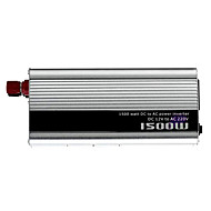 cheap Automotive Equipment & Tools-1500W DC 12V to AC 220V Power Inverter - Silver